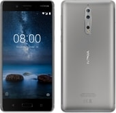 Nokia 8 Single SIM Steel
