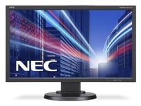 "23"" LED NEC E233WM-FHD,TN,DVI,DP,rep,piv,blk"