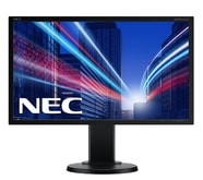 "23"" LED NEC E231W - Full HD,TN,250cd,DVI,DP,black"