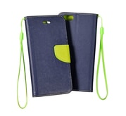 Pouzdro Fancy Microsoft Lumia 535 navy/lime