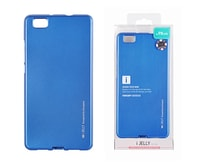 Pouzdro Mercury iJelly Metal LG K4 (F120) Blue