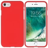Mercury Soft Feeling TPU pro iPhone 5S/SE red