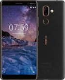 Nokia 7+ Single SIM Black/Copper