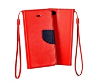 Pouzdro Fancy Microsoft Lumia 640 red/navy