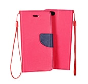 Pouzdro Fancy Microsoft Lumia 640 pink/navy