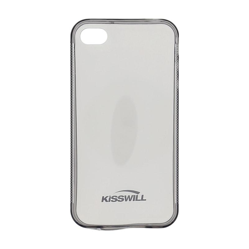 GSM-Market.cz - Kisswill TPU Pouzdro Black pro iPhone 4 4S ... dce68bd8a7d