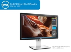 "24"" LCD Dell P2415Q UHD 4K 3H-IPS/16:9/HDMI+DP - CZ distribuce"