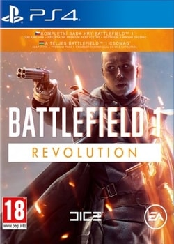 PS4 - BATTLEFIELD 1 REVOLUTION EDITION