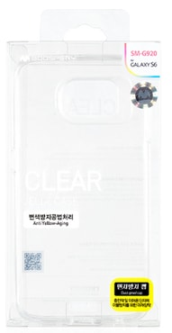 Mercury Clear Jelly pouzdro iPhone 5/5s/SE, transparent